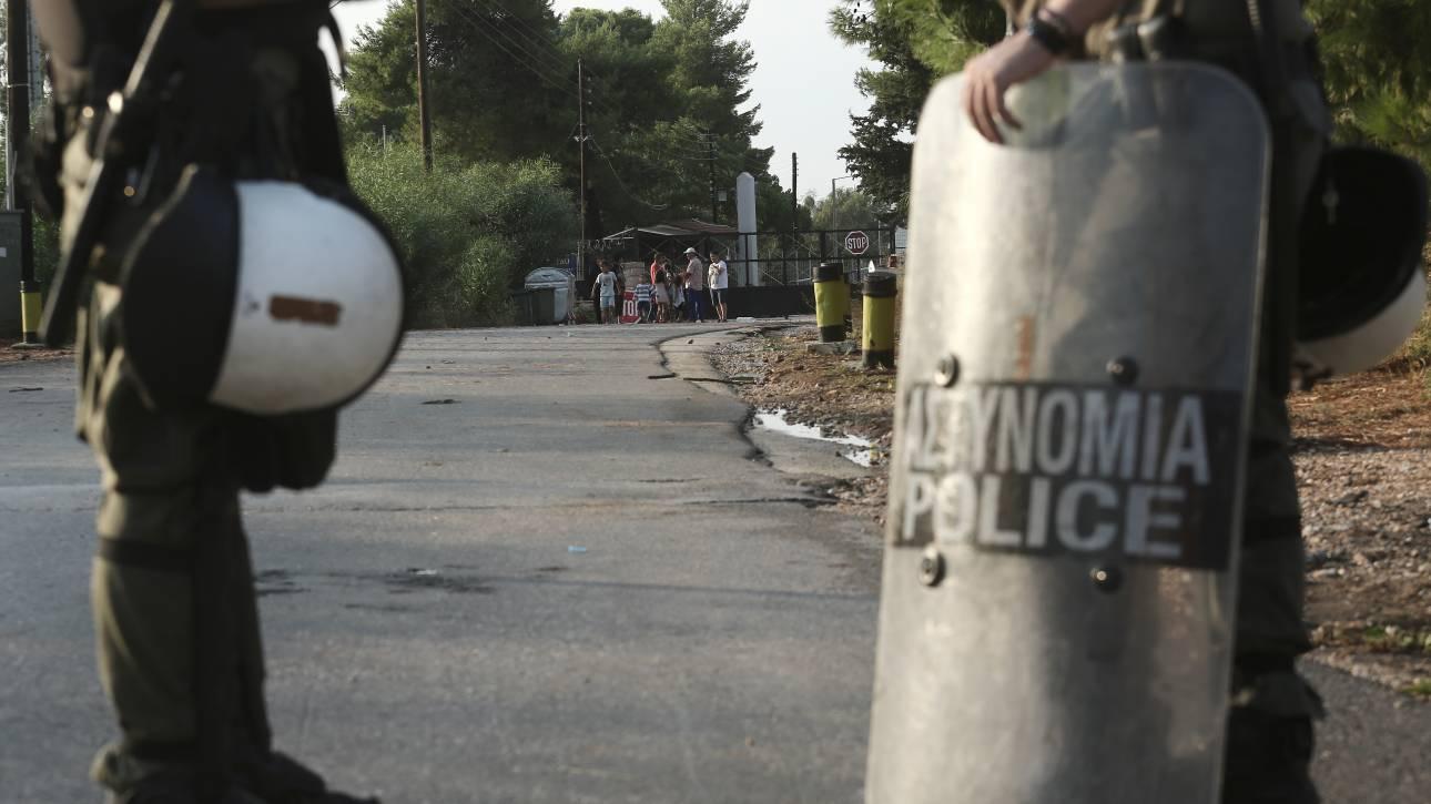 Μαλακάσα: Μικροένταση στη δομή προσφύγων μετά τη σύλληψη άνδρα που «έσπασε» την καραντίνα