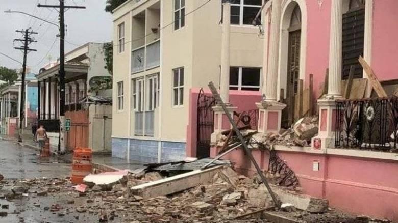 Ισχυρή σεισμική δόνηση 5,5 Ρίχτερ στο Πουέρτο Ρίκο