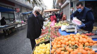 Κορωνοϊός: Έτσι θα λειτουργούν οι λαϊκές αγορές ως το τέλος Μαΐου