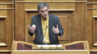 Τσακαλώτος: Σε δύο ημέρες ο Σταϊκούρας προσέθεσε 3,2% στην ύφεση