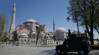 Αμερικάνικη έκθεση εκφράζει ανησυχία για τη μετατροπή της Αγίας Σοφίας σε τζαμί
