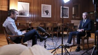 Κορωνοϊός - Μητσοτάκης στο CNNi: Αντιμετωπίσαμε την πανδημία με τον σωστό τρόπο