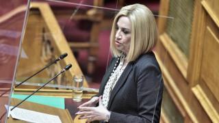 Γεννηματά: Η κυβέρνηση ανοίγει την κερκόπορτα για την υποβάθμιση του περιβάλλοντος