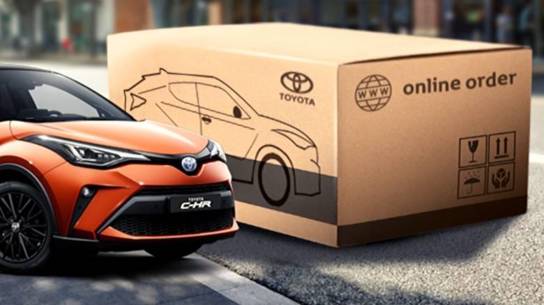 Αυτοκίνητο: Από εδώ και στο εξής μπορείτε να αγοράζετε τα μοντέλα της Toyota online και ανέπαφα
