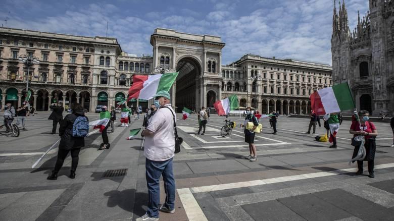 Κορωνοϊός - Ιταλία: Μείωση των κρουσμάτων και μικρή αύξηση των νεκρών