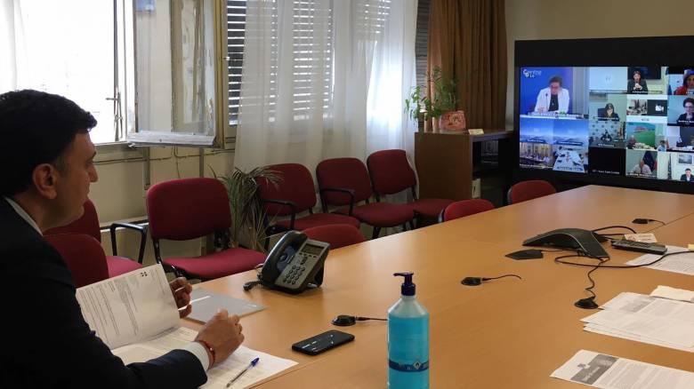 Τηλεδιάσκεψη Κικίλια με θέμα τα εμβόλια για τον κορωνοϊό