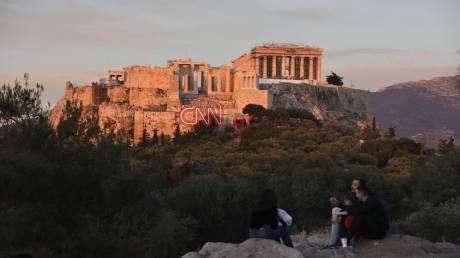Απογευματινές βόλτες με φόντο την Ακρόπολη
