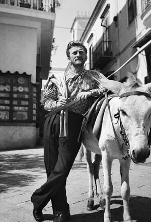 1953, Κάπρι.  Ο Αμερικανός ηθοποιός Κερκ Ντάγκλας κάνει διακοπές στο Κάπρι και αναρωτιέται αν πρέπει να κάνει το υπόλοιπο της διαδρομής επάνω στο γαϊδούρι ή με τα πόδια...