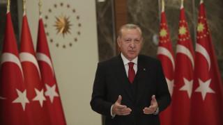 Ερντογάν: Η Τουρκία θα υπερασπίζεται μέχρι τέλους τα δικαιώματά της σε Αιγαίο, Κύπρο και Μεσόγειο