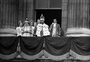 1937, Λονδίνο. Η ενθρόνιση του βασιλιά Γεώργιου ΣΤ'.