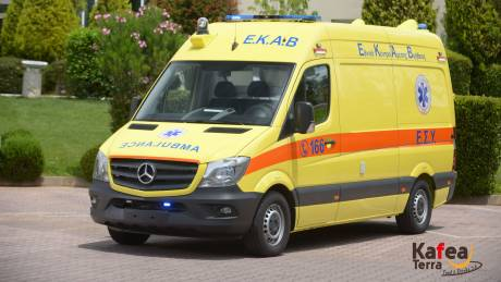 Στη μάχη κατά του κορωνοϊού ένα νέο, πλήρως εξοπλισμένο ασθενοφόρο για το ΕΚΑΒ  από την Kafea Terra