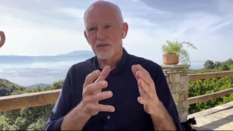 Γιώργος Παπανδρέου στο CNNi: Είναι ανάγκη η έκδοση ευρωομολόγου
