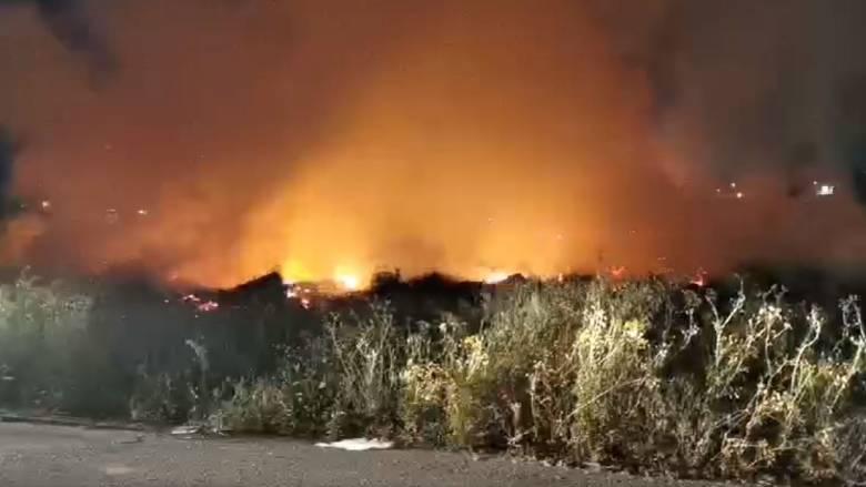 Υπό πλήρη έλεγχο η φωτιά στον Εύοσμο Θεσσαλονίκης
