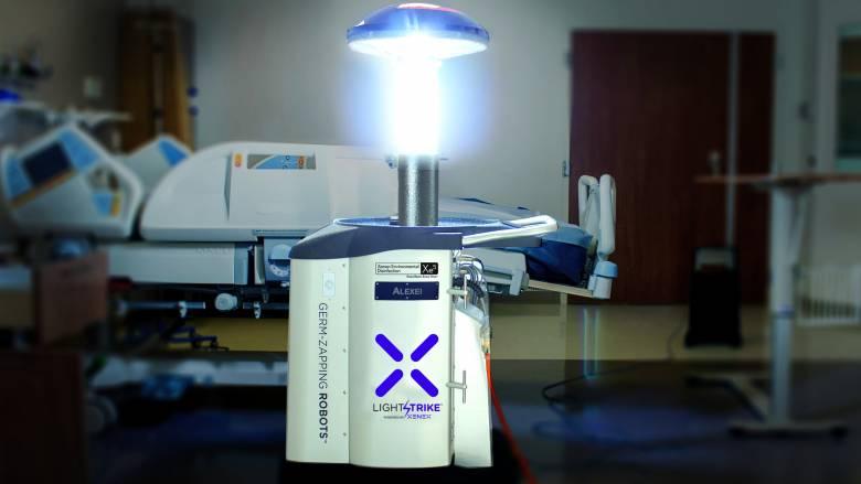 Κορωνοϊός - Ιαπωνία: Ρομπότ σκοτώνει τον ιό με υπεριώδη ακτινοβολία, σε μόνο δύο λεπτά