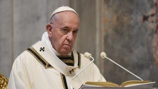Κορωνοϊός: Τηλεφωνική επικοινωνία Μητσοτάκη με τον Πάπα Φραγκίσκο