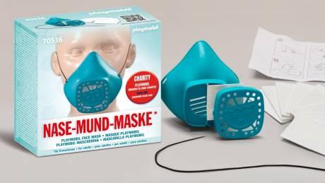 Η PLAYMOBIL κατά της εξάπλωσης του ιού: Επαναχρησιμοποιούμενο «Κάλυμμα Μύτης και Στόματος»