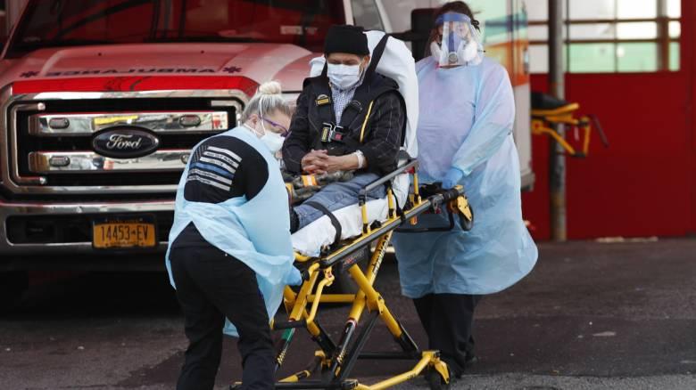 Κορωνοϊός: Πάνω από 1.800 νεκροί το τελευταίο 24ωρο στις ΗΠΑ