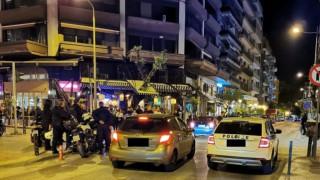 Θεσσαλονίκη: Συνωστισμός στο κέντρο της πόλης - Δεκάδες πολίτες με ποτά στο χέρι