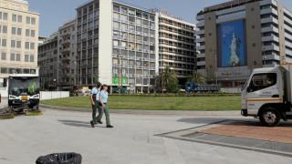 Πλατεία Ομονοίας: Σήμερα τα αποκαλυπτήρια - Φωταγωγείται το συντριβάνι