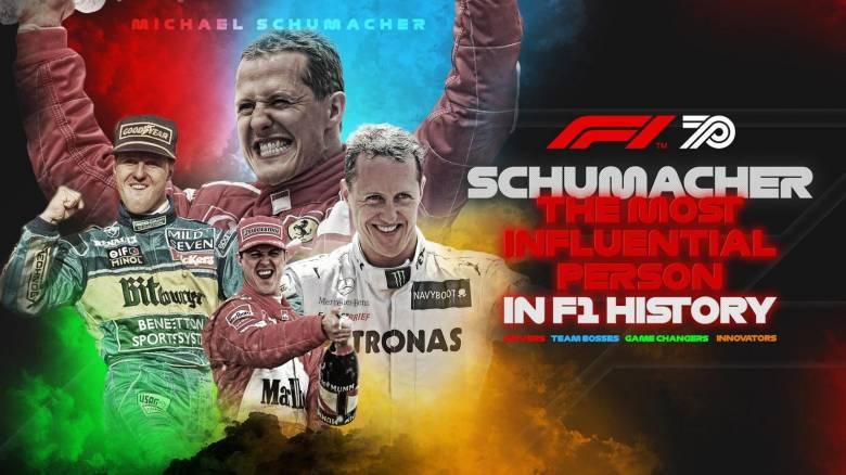 Ο Michael Schumacher ψηφίστηκε ως το πιο σημαντικό πρόσωπο στην ιστορία της Φόρμουλα 1