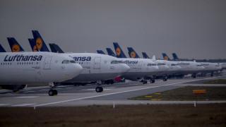 Κορωνοϊός: 1 εκατ. ευρώ την ώρα χάνει η Lufthansa που χρειάζεται επειγόντως διάσωση