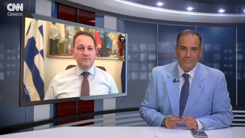 Στέλιος Πέτσας στο CNN Greece: Το σχέδιο της κυβέρνησης σε όλα τα ανοικτά μέτωπα