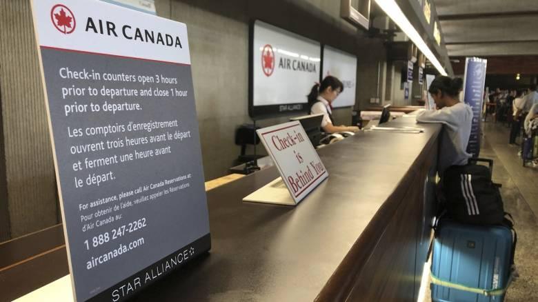 Κορωνοϊός: Αποκλείει την επιστροφή της στην ομαλότητα η Air Canada