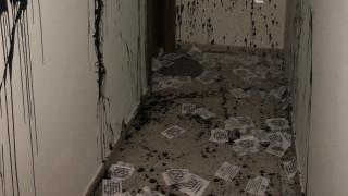 Θεσσαλονίκη: Επίθεση στο γραφείο του βουλευτή της ΝΔ Στράτου Σιμόπουλου