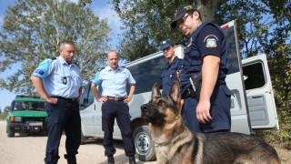 Θεσσαλονίκη: Ποσότητα κάνναβης εντόπισε η Minnie