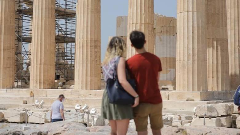 Ρεπορτάζ CNN Greece: «Το πρώτο μέρος που πήγα μετά το lockdown είναι η Ακρόπολη»