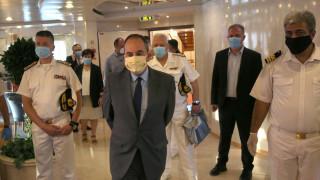 Πλακιωτάκης: «Ετοιμότητα στο λιμάνι του Πειραιά» - Επιθεώρηση για τα μέτρα προστασίας