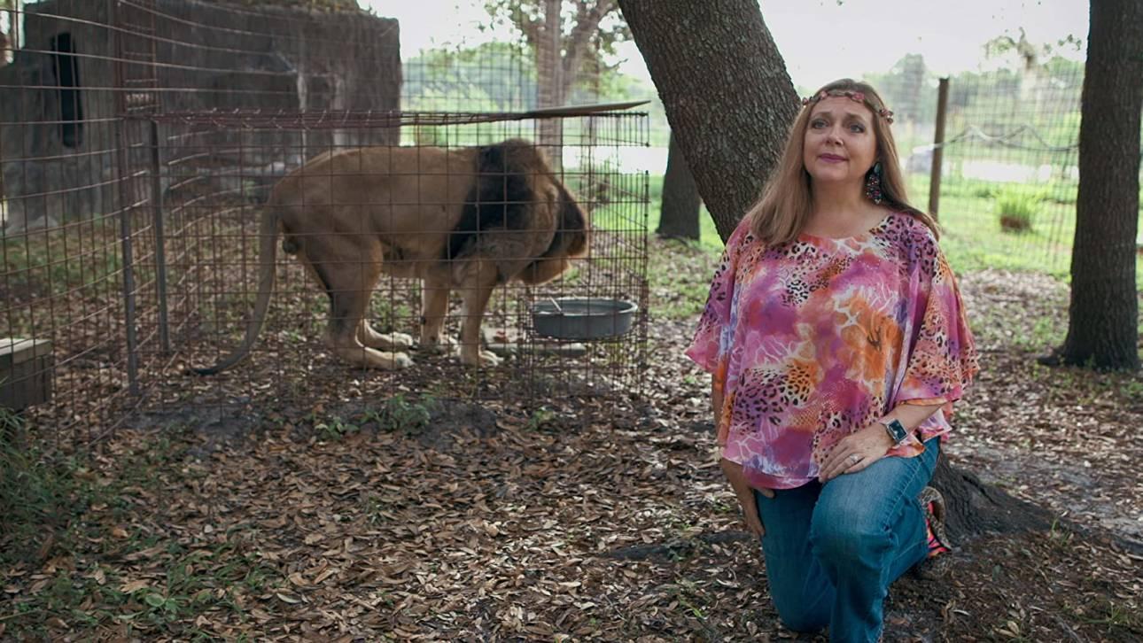 Κάρολ Μπάσκιν: Η γυναίκα που έγινε γνωστή από το Tiger King του Netflix έφτιαξε λεοπάρ μάσκες