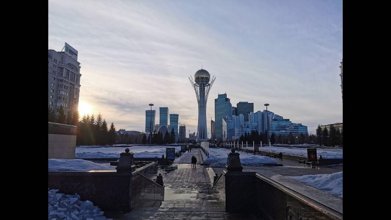 Η πρωτεύουσα Νουρσουλτάν είναι η πιο κρύα πρωτεύουσα του κόσμου, με θερμοκρασίες που το χειμώνα φτάνουν τους -35°C.