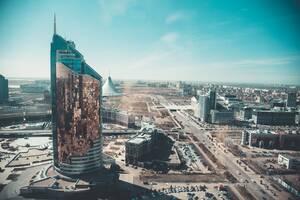 Άποψη της πρωτεύουσας του Καζακστάν.