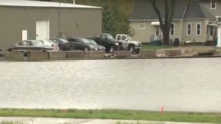 Ουισκόνσιν: Πλημμύρισαν οι δρόμοι από τις έντονες βροχοπτώσεις στην περιοχή του Γκριν Μπέι