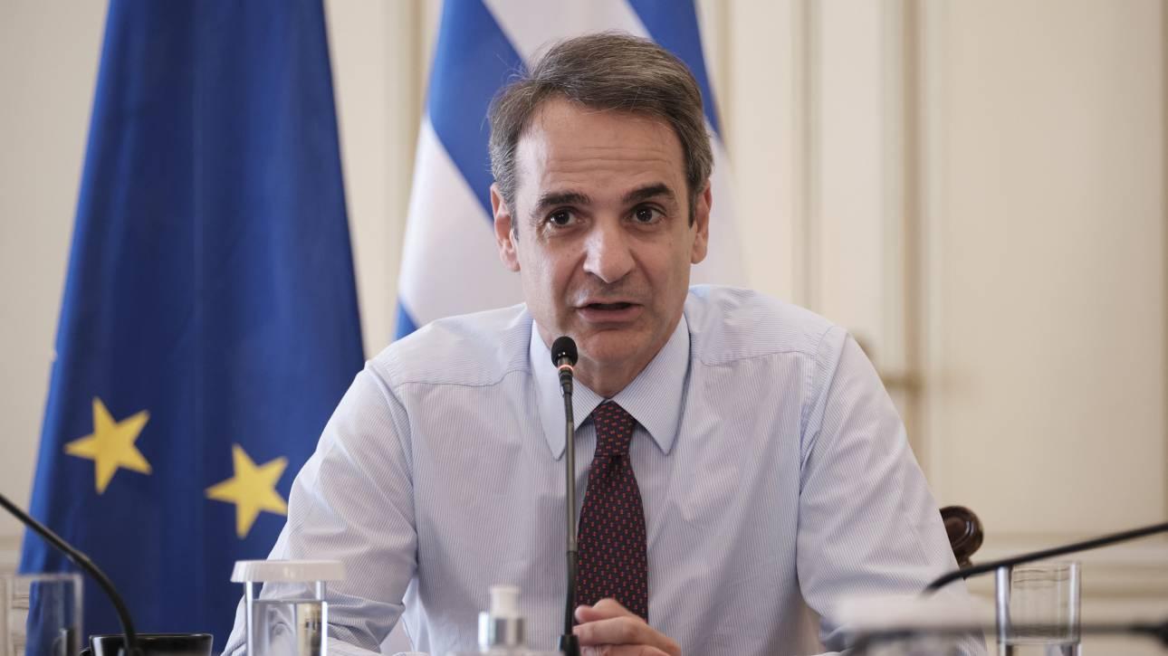 Ο Μητσοτάκης ανακοινώνει το κυβερνητικό σχέδιο για εργασία, οικονομία και τουρισμό
