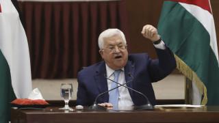 Η Παλαιστίνη αποσύρεται από όλες τις συμφωνίες με Ισραήλ και ΗΠΑ