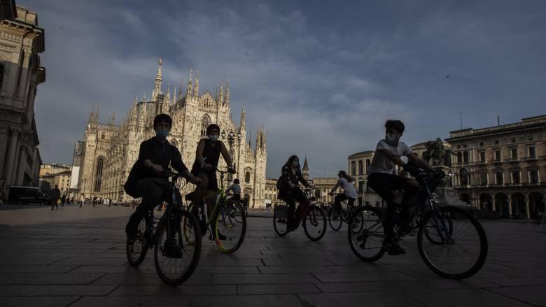 Κορωνοϊός - Ιταλία: Μείωση των κρουσμάτων - Σταθερός ο αριθμός των νεκρών
