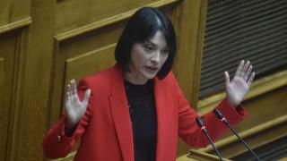 Γιαννακοπούλου: Μετά τα... «γαλλικά» κατά της Κεραμέως ήρθαν οι εξηγήσεις