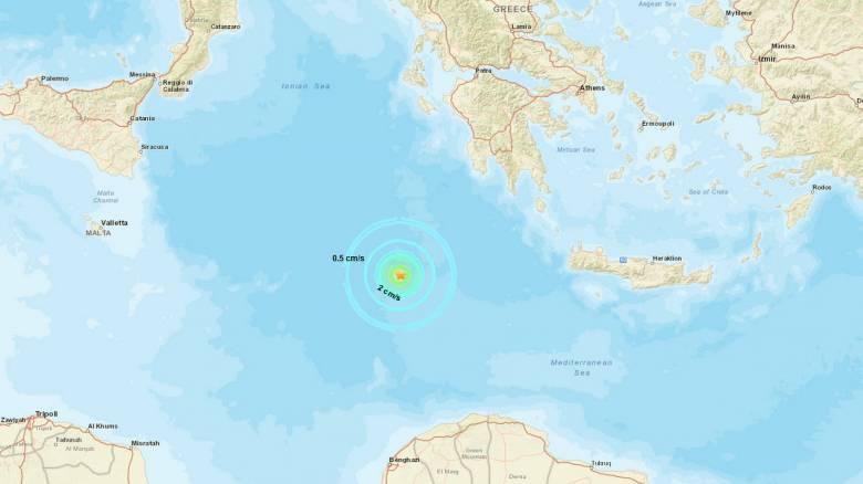 Σεισμός νότια της Πύλου
