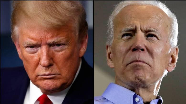Προεδρικές εκλογές - ΗΠΑ: Προβάδισμα Τζο Μπάιντεν έναντι Ντόναλντ Τραμπ