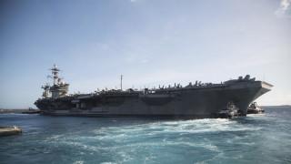 Γκουάμ: Το αεροπλανοφόρο Roosvelt επιστρέφει στην ανοιχτή θάλασσα μετά τα κρούσματα κορωνοϊού
