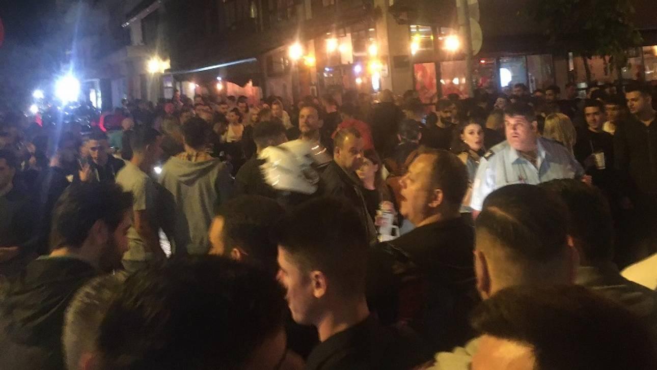 Θεσσαλονίκη: Ένταση έξω από μπαρ τα ξημερώματα