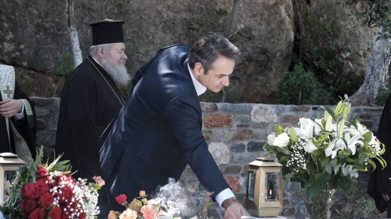 Χανιά: Τρισάγιο στη μνήμη του Κωνσταντίνου Μητσοτάκη παρουσία του πρωθυπουργού