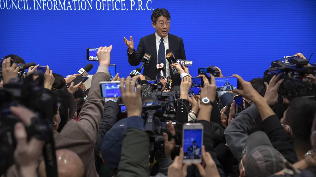 Διευθυντής κινεζικού CDC: Κατανοητές οι αντιδράσεις για τη διαχείρισή μας απέναντι στον κορωνοϊό