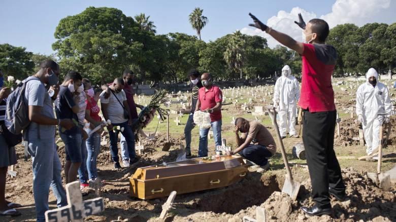 Κορωνοϊός στη Βραζιλία: 653 θάνατοι και 15.813 νέα κρούσματα μόλυνσης σε 24 ώρες