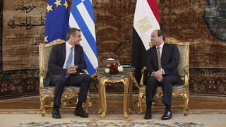 Τηλεφωνική επικοινωνία Μητσοτάκη - Αλ Σίσι: Συζήτησαν για Λιβύη και ανατολική Μεσόγειο