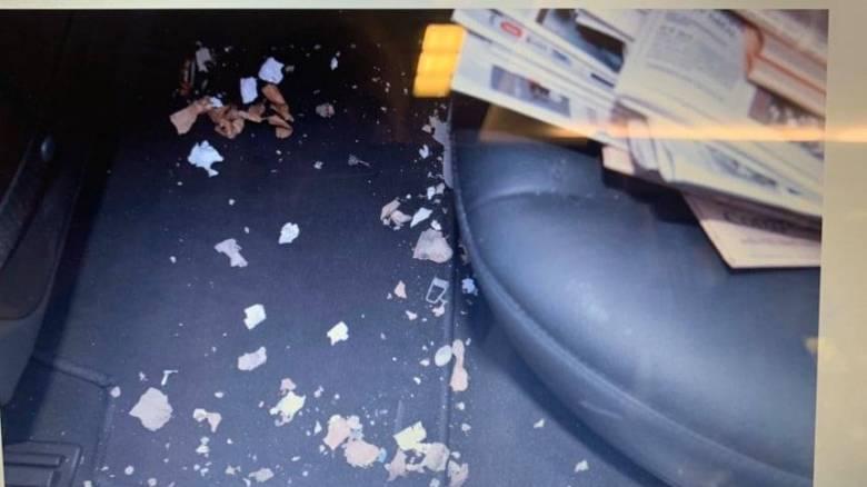 Τρομο-φάκελος στον Λουκά Παπαδήμο: Φωτογραφίες – ντοκουμέντο τρία χρόνια μετά την επίθεση