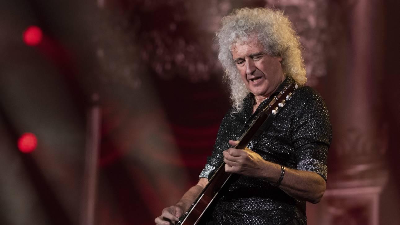 Μπράιαν Μέι: Ο κιθαρίστας των Queen αναρρώνει από την καρδιακή προσβολή που υπέστη