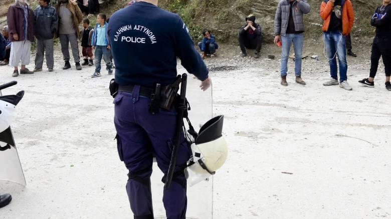 Μυτιλήνη: Άγρια συμπλοκή μεταξύ ομάδων μεταναστών και προσφύγων